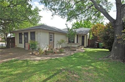 Austin Single Family Home For Sale: 7601 Grovedale Trl