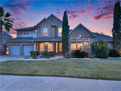 Cedar Park Single Family Home Pending - Taking Backups: 3203 Appennini Way