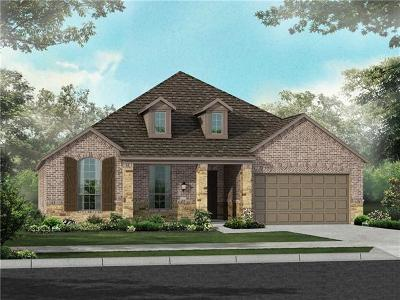 Round Rock Single Family Home For Sale: 3965 Cole Valley Ln
