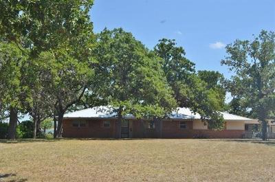 Burnet County Single Family Home Pending - Taking Backups: 108 Agarita Dr