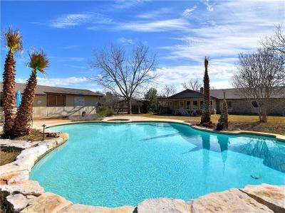 Round Rock Single Family Home For Sale: 4100 Spanish Oak Dr