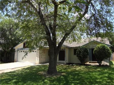 Austin Single Family Home For Sale: 2602 Market Garden Ln
