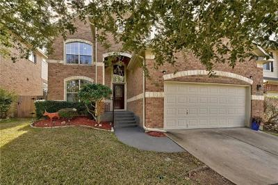 Travis County, Williamson County Single Family Home For Sale: 2105 Westfalian Trl
