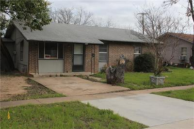 Georgetown Single Family Home Pending - Taking Backups: 503 W 8th St