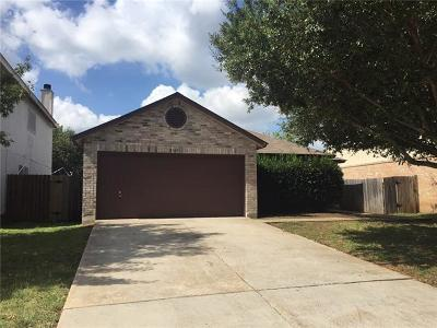 Cedar Park Single Family Home Pending - Taking Backups: 2509 Stapleford Dr