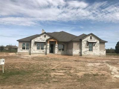 Liberty Hill Single Family Home For Sale: 501 Buffalo Trail
