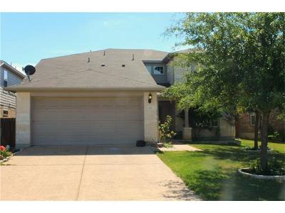 Leander Single Family Home For Sale: 733 Kingfisher Ln