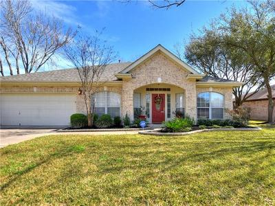 Round Rock Single Family Home For Sale: 1728 Jerusalem Dr