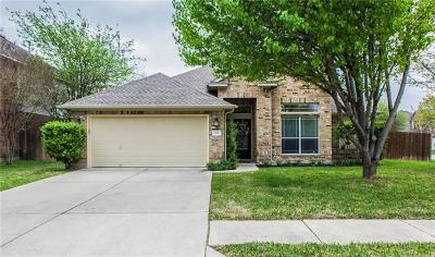 Pflugerville Single Family Home For Sale: 1111 Canyon Maple Rd