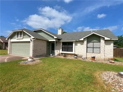 Round Rock Single Family Home Pending - Taking Backups: 1804 Bluebonnet Dr