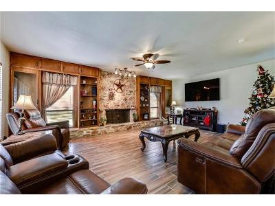 Round Rock Single Family Home For Sale: 1403 Windy Cv
