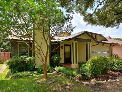 Travis County Single Family Home Pending - Taking Backups: 12719 Covington Trl