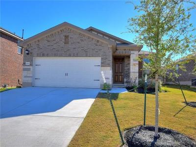 Round Rock Single Family Home For Sale: 2012 Hat Bender Loop