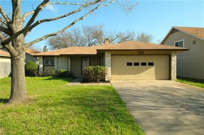 Austin Single Family Home Pending - Taking Backups: 9814 S Meadowheath Dr
