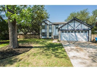 Austin Single Family Home For Sale: 11700 Wind Song Cv