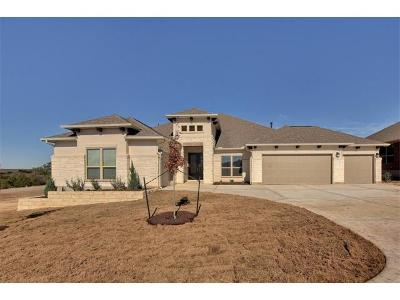 Dripping Springs Single Family Home For Sale: 125 Capstone Ct