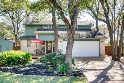 Round Rock Single Family Home For Sale: 1803 Stagecoach Trl