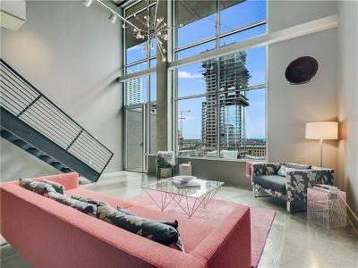 Austin Condo/Townhouse For Sale: 800 W 5th St #1108