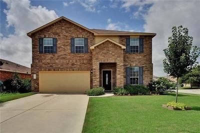 Leander Single Family Home For Sale: 213 Whitewing Dr