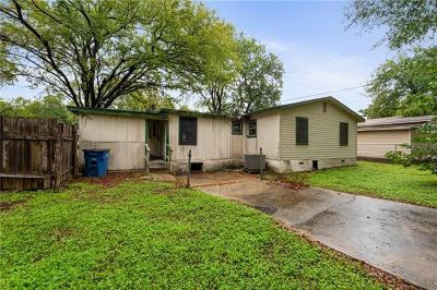 Austin Single Family Home For Sale: 5405 Hudson St