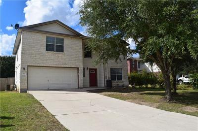 Kyle Single Family Home For Sale: 186 Carriage Way