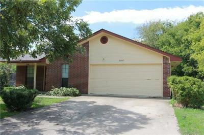 Georgetown Single Family Home For Sale: 2202 Trails End Dr
