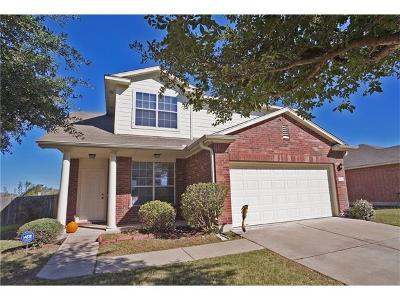 Manor Single Family Home For Sale: 12620 James Polk St