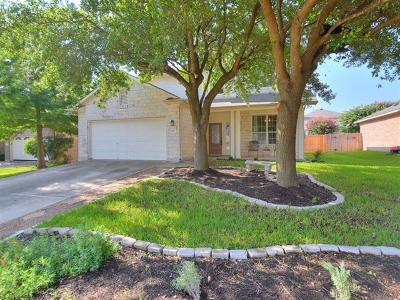 Georgetown Single Family Home For Sale: 2418 Candle Ridge Trl