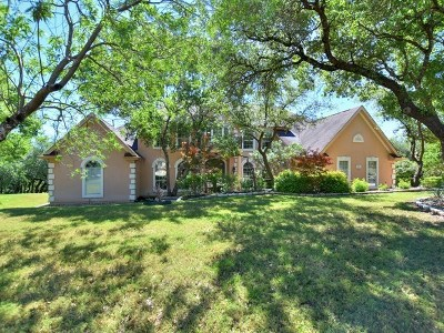 Lakeway Single Family Home Pending - Taking Backups: 206 Far Vela Ln