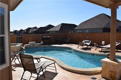Hutto Single Family Home For Sale: 125 Emory Fields Dr