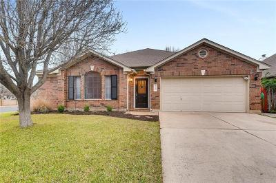 Round Rock Single Family Home For Sale: 3701 Newland Dr