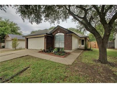 Pflugerville Single Family Home Pending - Taking Backups: 17234 Bushmills Rd