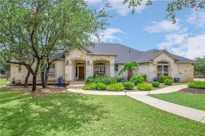 Hays County Single Family Home Pending - Taking Backups: 12504 Triple Creek Dr