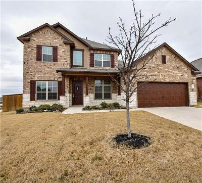 Georgetown Single Family Home For Sale: 132 Canyon Lake Ln