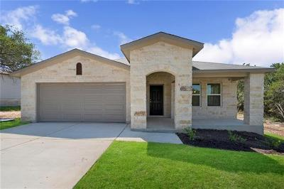 Lago Vista Single Family Home For Sale: 21803 Crystal Way