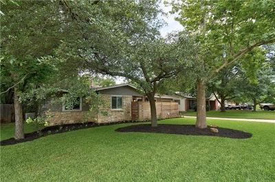 Austin Single Family Home For Sale: 8102 Briarwood Ln