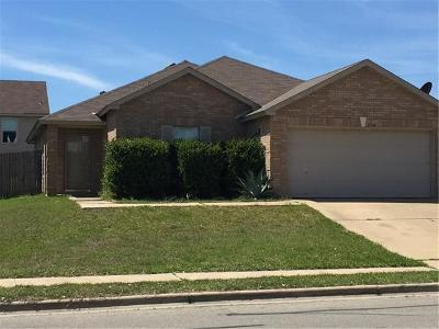 Round Rock Single Family Home Pending - Taking Backups: 3504 Sandy Brook Dr