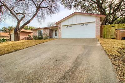 Hays County, Travis County, Williamson County Single Family Home Pending - Taking Backups: 7903 Croftwood Dr