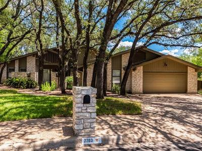 Hays County, Travis County, Williamson County Single Family Home For Sale: 7703 Merrybrook Cir