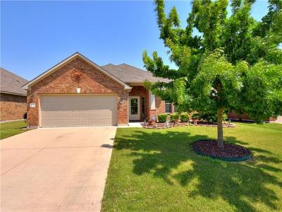 Hutto TX Single Family Home For Sale: $232,500
