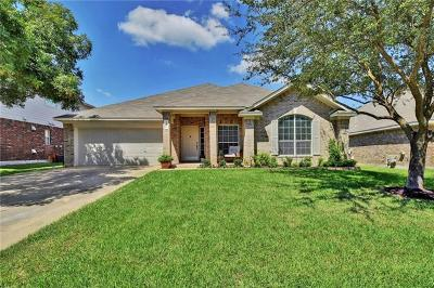 Round Rock Single Family Home For Sale: 4411 Hunters Lodge Dr
