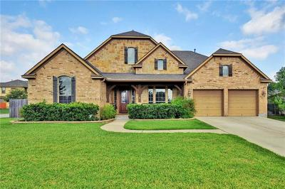 Round Rock Single Family Home Pending - Taking Backups: 3908 Alabaster Cv