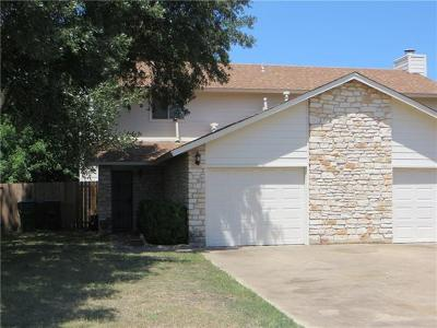 Round Rock Rental For Rent: 1204 Doreen Ct #B