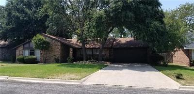 Harker Heights Single Family Home For Sale: 408 Cottonwood Dr