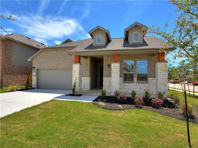 Round Rock Single Family Home For Sale: 3617 Kyler Glen Cv