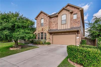 Round Rock Single Family Home For Sale: 2434 Santa Barbara Loop