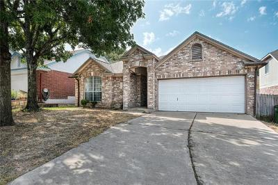 Round Rock Single Family Home For Sale: 2434 Roundabout Ln