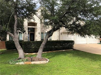 Cedar Park Single Family Home Pending - Taking Backups: 2601 Bonnyrigg Ct
