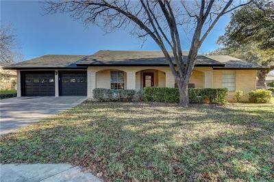 Georgetown Single Family Home For Sale: 1615 Mesquite Ln