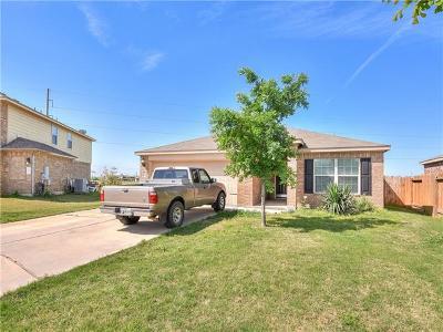 Manor Single Family Home Pending - Taking Backups: 13200 Nelson Houser St
